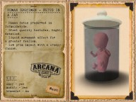 {A} Human Specimen - Fetus in a Jar Vendor